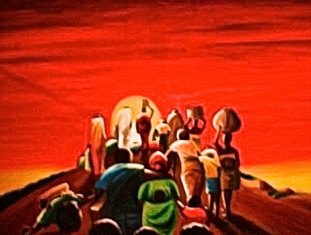 'The Exodus' PFisayo (Sold)